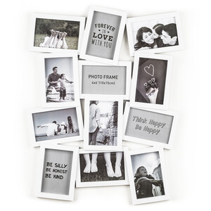 Fotorámeček Marion na 12 fotografií, bílá