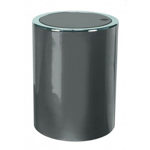 Kleine Wolke Kosmetický odpadkový koš Clap Mini 1,5 l, antracit