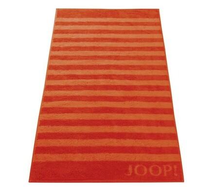 JOOP! ručník Stripes červený, 50 x 100 cm