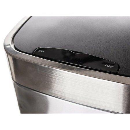 Banquet Coș de gunoi cu senzor 25 l, pătrat