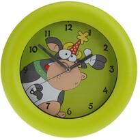 Nástenné hodiny Cowie zelená, 26 cm