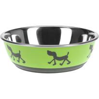 Miska pro psa Doggie treat zelená, pr. 17,5 cm