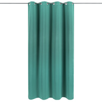 Draperie Arwen verde, 140 x 245 cm