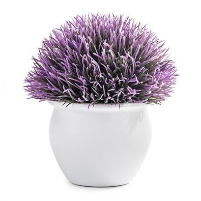 Umělá květina Echimus fialová