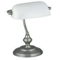 Rabalux 4037 Bank stolní lampa, bílá