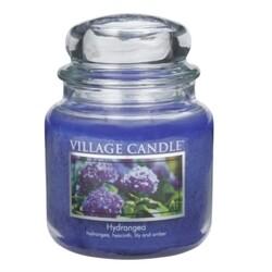 Village Candle Vonná svíčka ve skle, Hortenzie - Hydrangea, 397 g, 397 g