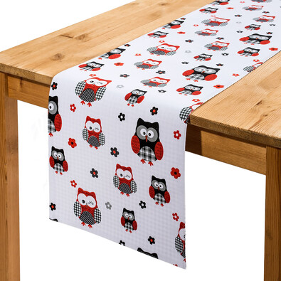 Behúň na stôl Sovy, 33 x 130 cm