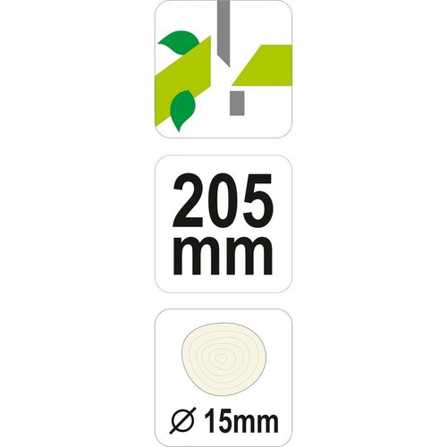 Yato YT-8800 zahradnické nůžky, 20,5 cm