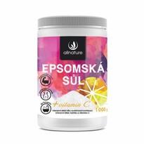Allnature Epsom fürdősó C- vitaminnal 1000 g