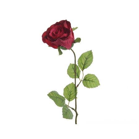 Umelá Ruža červená, 45 cm
