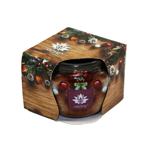 Arome illatgyertya Cider Wood and Pine, 85 g