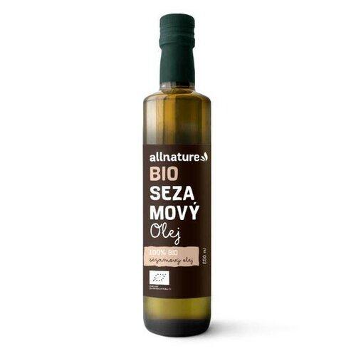Allnature Sezamový olej BIO 250 ml