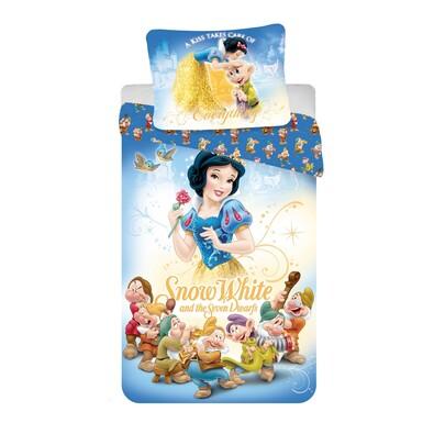 Dětské bavlněné povlečení Sněhurka 2016, 140 x 200 cm, 70 x 90 cm