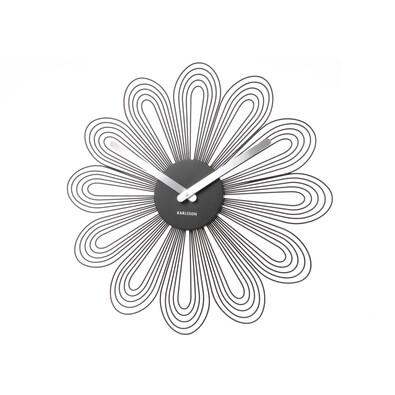 Karlsson 5421BK nástenné hodiny