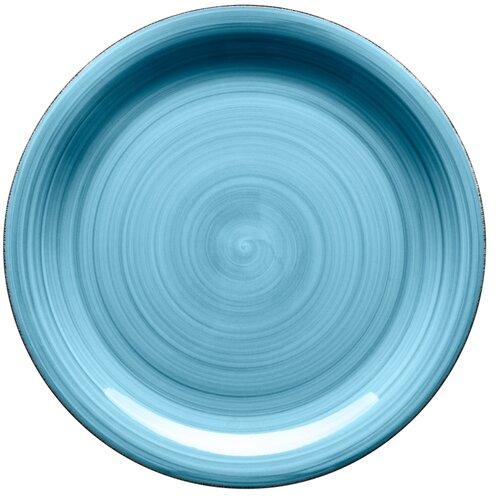 Mäser Keramický plytký tanier Bel Tempo 27 cm, modrá