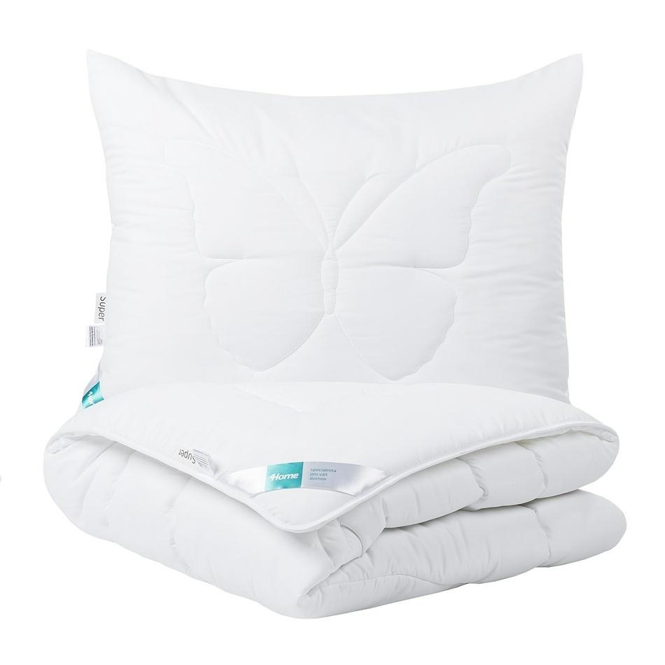 4Home Komplet kołdry i poduszki Mariposa super, 140 x 200 cm, 70 x 90 cm