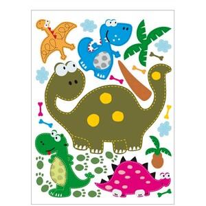 AG Art Samolepicí dekorace Dinosaurus, 42,5 x 65 cm