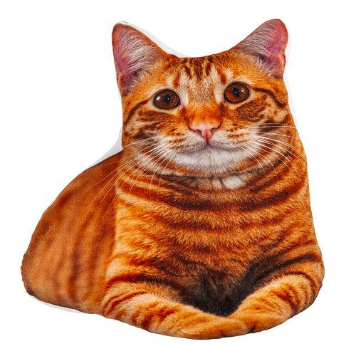 Tvarovaný polštářek Kočička, 40 x 42 cm