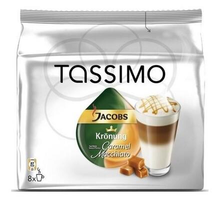 Kapsle Tassimo Jacobs Krönung Latte Macchiato Cara