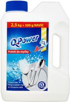 Q Power Prášok do umývačky riadu 2,5 kg + 500 g