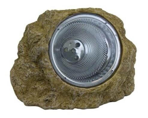 Solárna lampa kameň