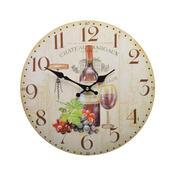 Nástěnné hodiny Víno HLC14350
