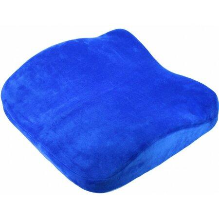 Suport ergonomic și perna de scaun 2în1, albastru