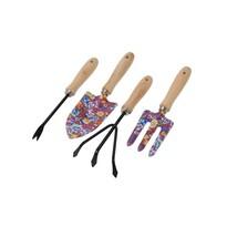 Zestaw narzędzi ogrodniczych Flower Tools, czerwony, 4 szt.