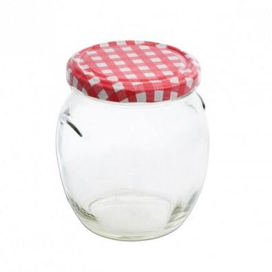 Zavařovací sklenice s víkem KARO, 0,5 l