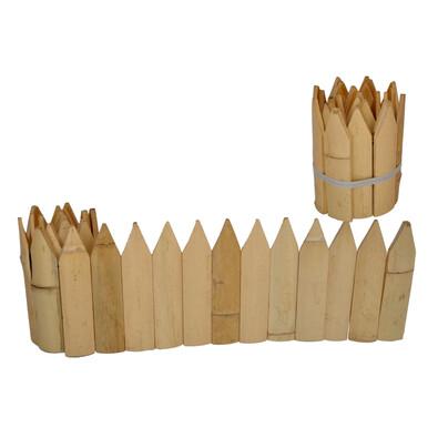 Špičatý bambusový plůtek