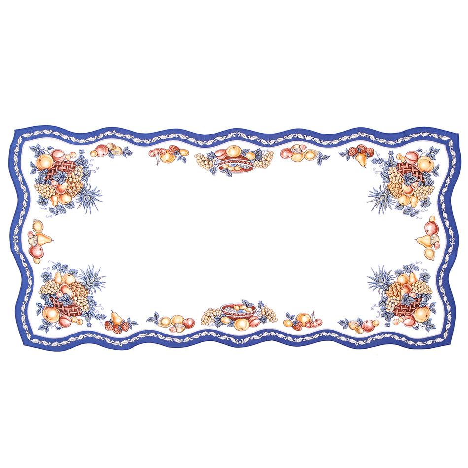 Forbyt obrus ovocie modrá, 50 x 100 cm