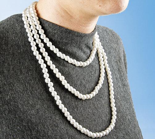 Perlový náhrdelník, 0,5 cm