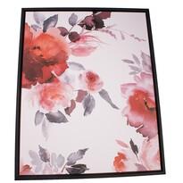 Roses keretezett vászonkép, 40 x 50 cm