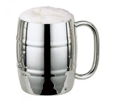Půllitr Iron Chiller, stříbrná