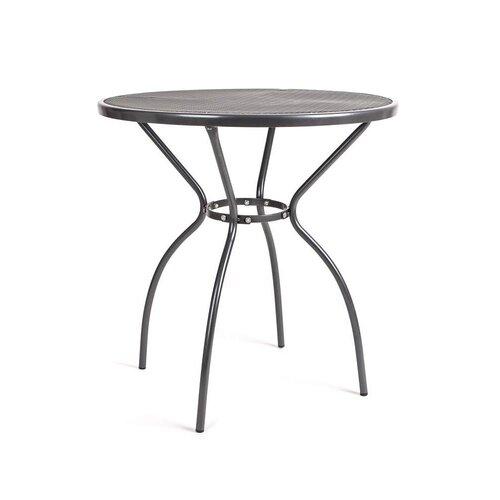 Happy Green Záhradný oceľový stôl Round, pr. 70 cm