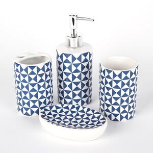 Koupelnový set Modern, tmavě modrá