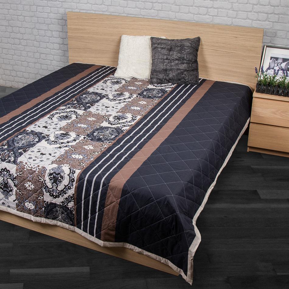 93fba51ac0be Night in Colours Přehoz na postel Paolina šedá 240x200