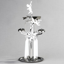 DE Luxe angyali csengő ezüst