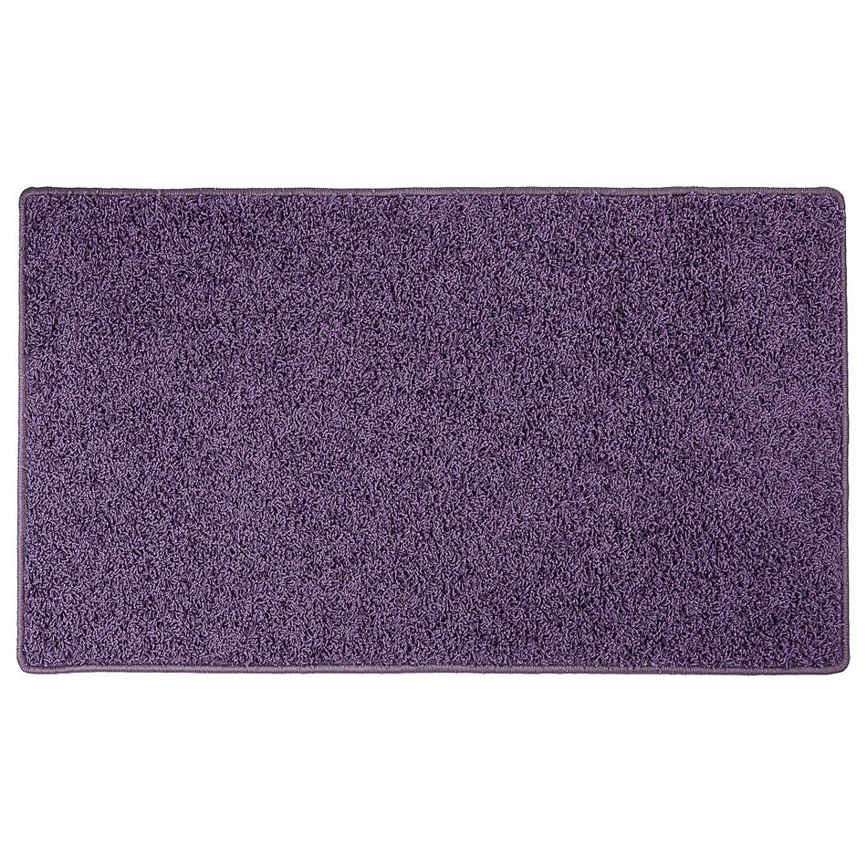 Vopi Kusový koberec Elite Shaggy fialová, 80 x 150 cm