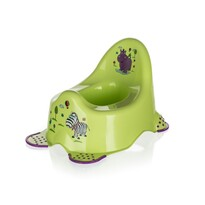 Keeper Hippo éjjeliedény gyermekek számára, zöld