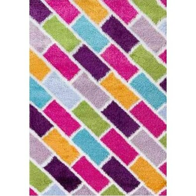 Kusový koberec Crazy 2210 Multi, 80 x 150 cm