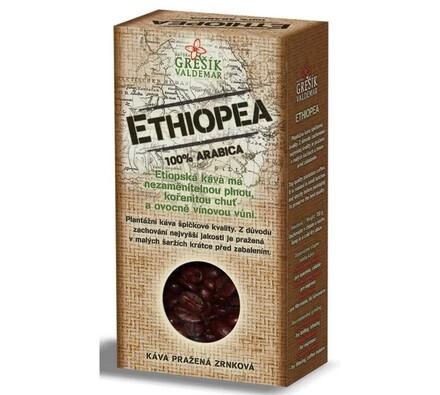 Grešík Ethiopea káva 100g, černá