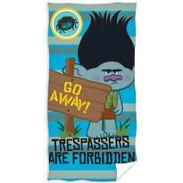 Ręcznik kąpielowy Trolls Go away!, 70 x 140 cm