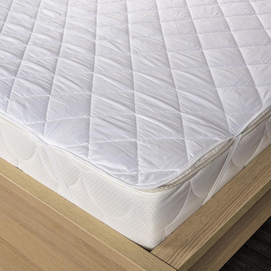 Produktové foto Kvalitex Chránič matrace prošitý z dutého vlákna, 90 x 200 cm