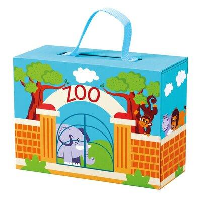 Bino Cestovný kufrík so zvieratkami ZOO, 28 x 24 x 11 cm