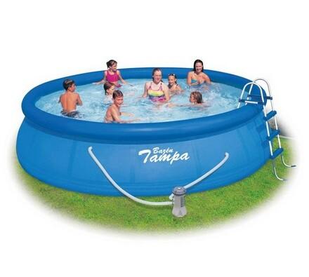 Bazén Tampa +  kartušová filtrace, příslušenství, Marimex, modrá, pr. 457 cm