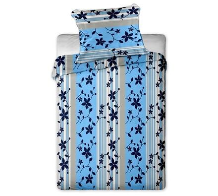 Povlečení Květiny blue 2+2, 140x200, 70x90  cm