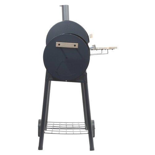 Cattara Smokie faszénes grill füstölővel, 100 x 55 x 113 cm