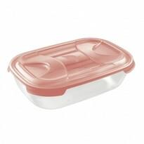 Tontarelli Plastový box na potraviny Nuvola 1,15 l, červená