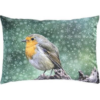 Sander Dekorační polštářek Snow bird, 35 x 50 cm